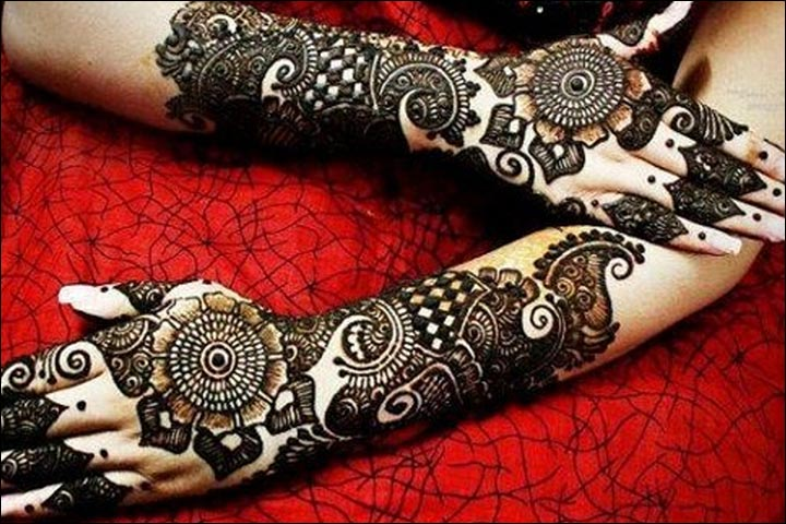 Mehndi Designs Rose : 13 exquisite rose mehndi design trends of the season