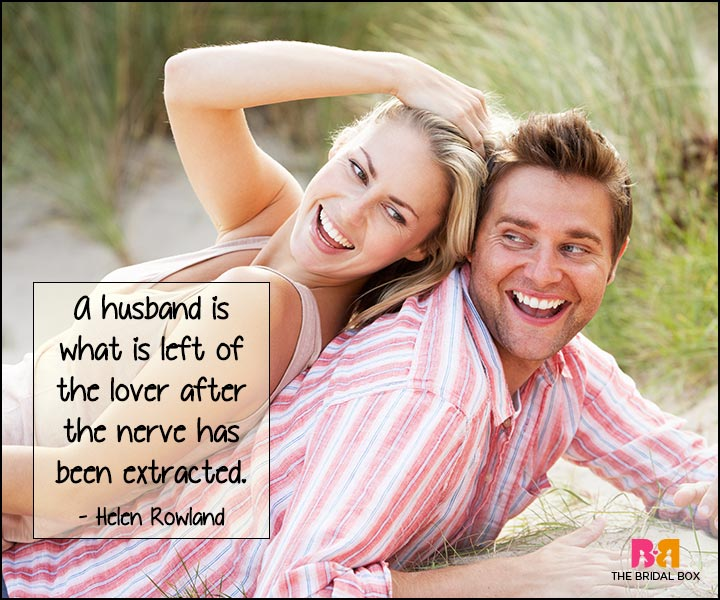 Funny Love Quotes - Helen Rowland