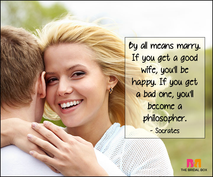 Funny Love Quotes - Socrates