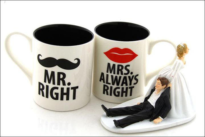Wedding Gifts For Friends - Funny Mugs