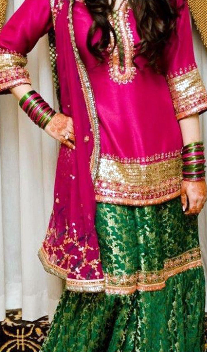 Mehndi Ceremony Attire : Top bridal mehndi dresses for the beautiful bride to be