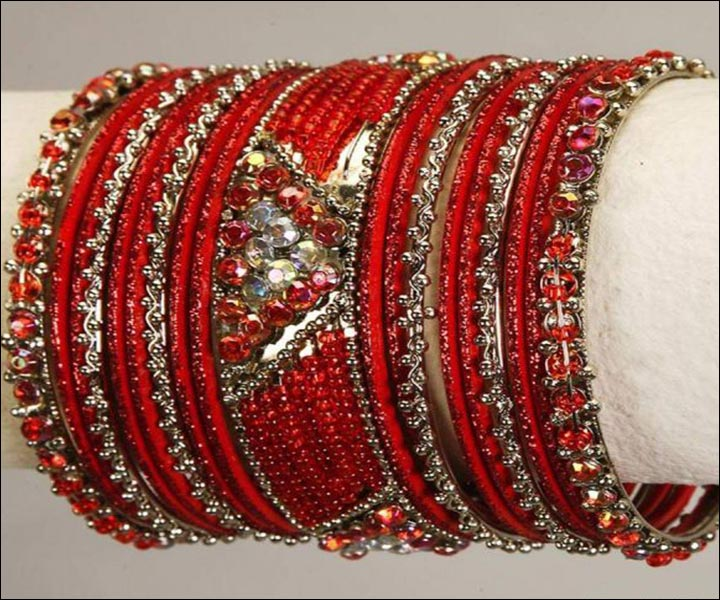 Bridal Bangles - Glass Wedding Bangles