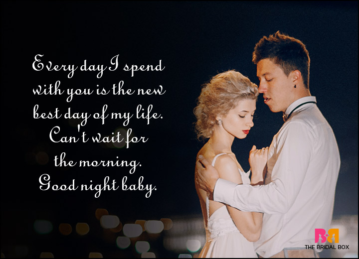 Good Night Love Quotes - The New Best Day Of My Life