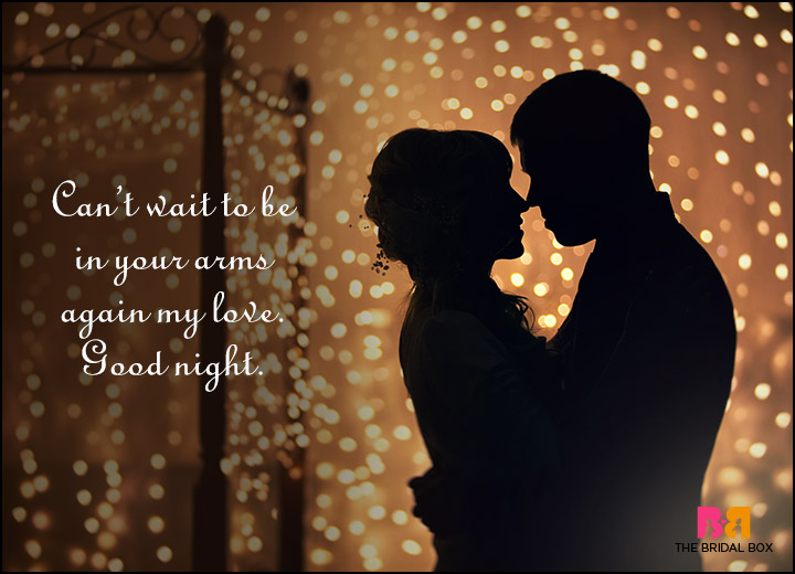 Good Night Love Quotes I Cant Wait