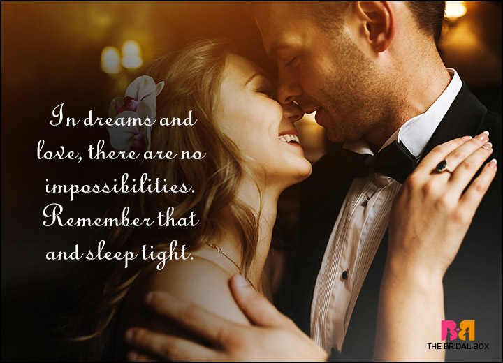 Good Night Love Quotes - There Are No Impossibilities
