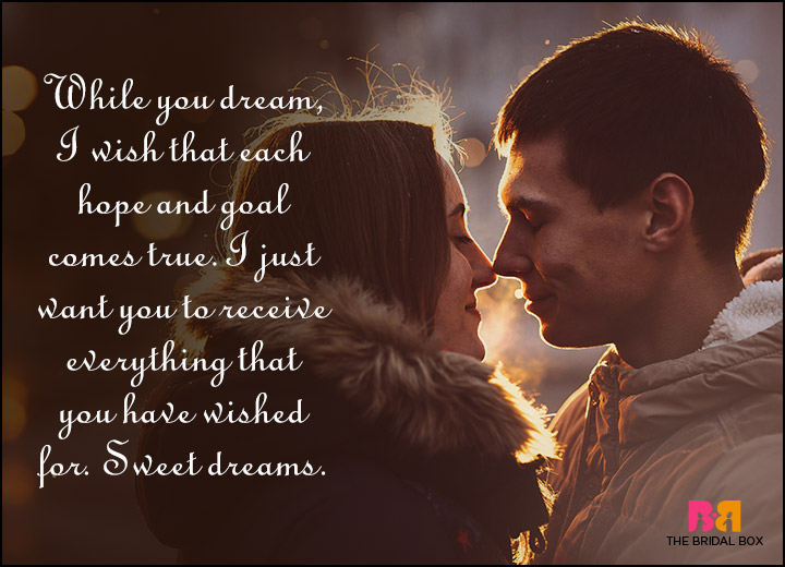 Good Night Love Quotes - I Hope Your Dreams Come True