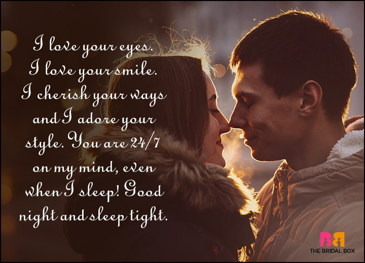 Good Night Love Quotes - To Cherish And To Love For All The Days Of Your Life