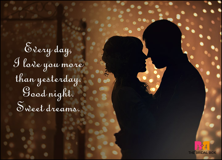 Good Night Love Quotes To Tuck Your Beau In At Night