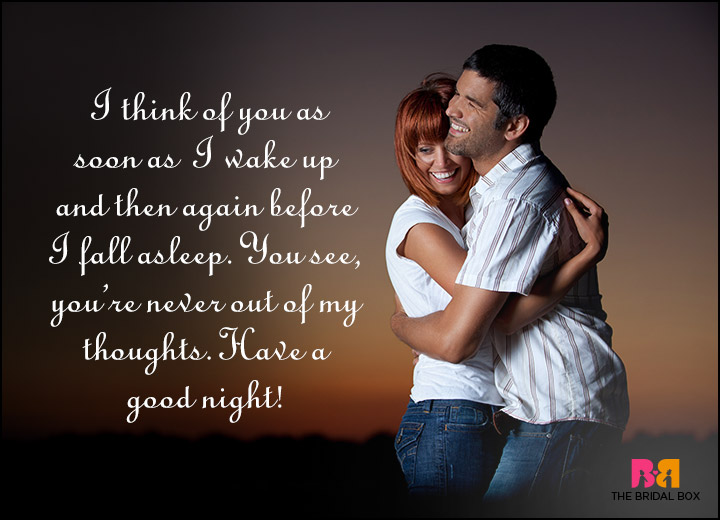 Good Night Love Quotes - So You See