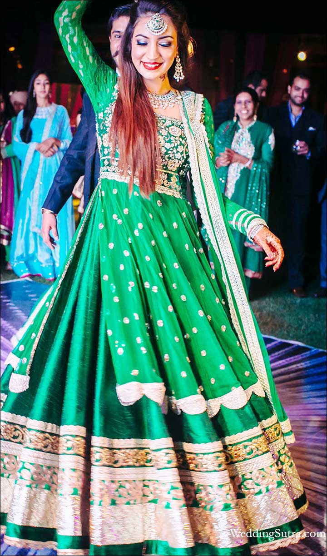 top 11 bridal mehndi dresses for the beautiful bridetobe