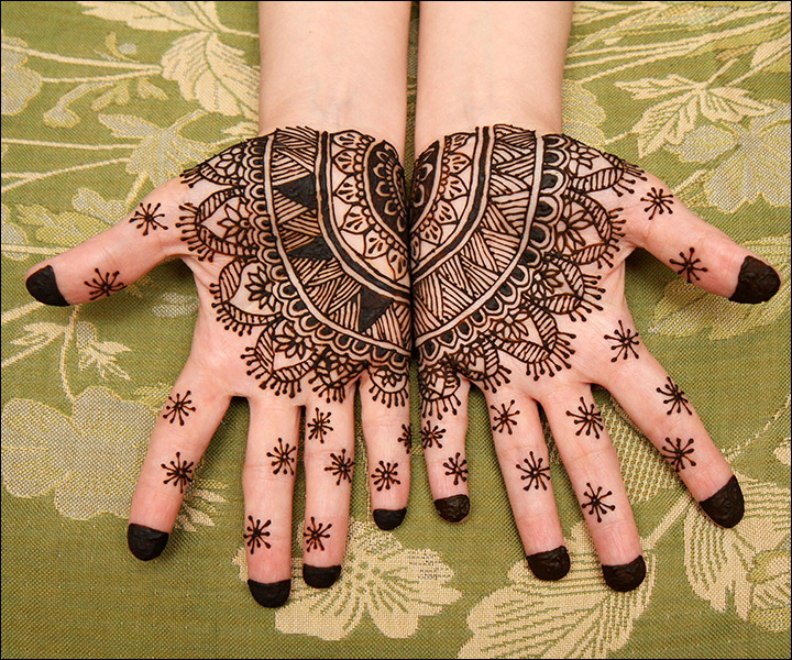 11 Palm Mehndi Designs From Simple To Stunning