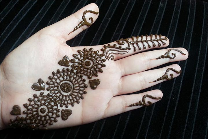 Mehndi Designs Heart : Dubai mehndi designs that will leave you captivated
