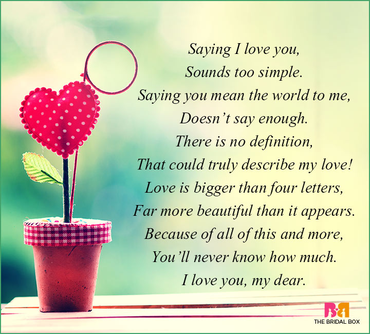 How Much I Love Quotes For Him: 9 Adorable Poems That Express Love In The Sweetest Way