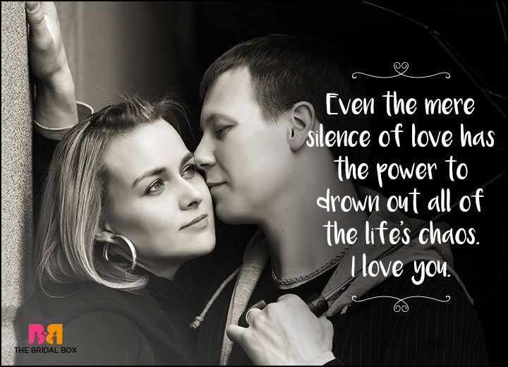 I Love You Messages For Girlfriend - The Silence Of Love