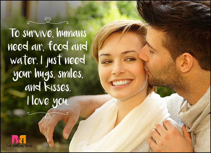 I Love You Messages For Girlfriend - Hugs Smiles And Kisses
