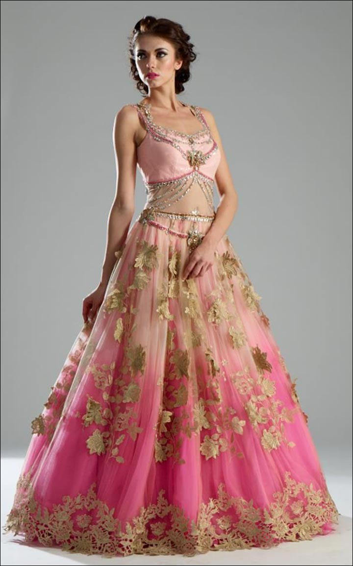 Indian Wedding Dresses - Indian Gown