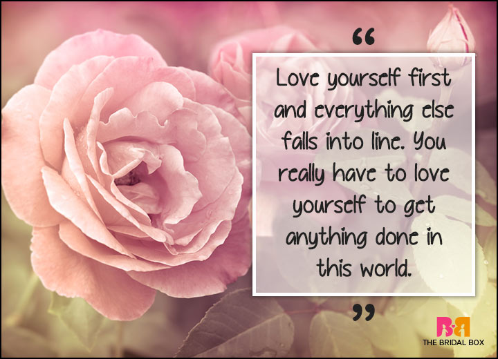 Inspirational Love Quotes - Love Yourself First
