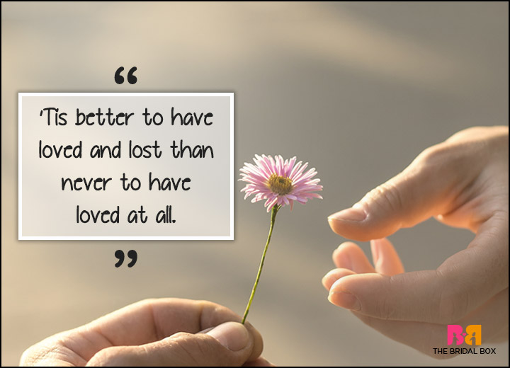 Inspirational Love Quotes - 'Tis Not Always