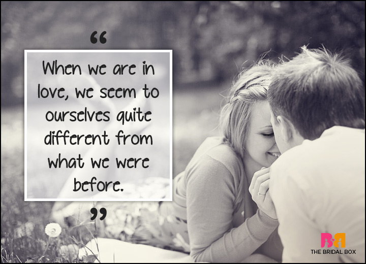 Inspirational Love Quotes - Different From Before