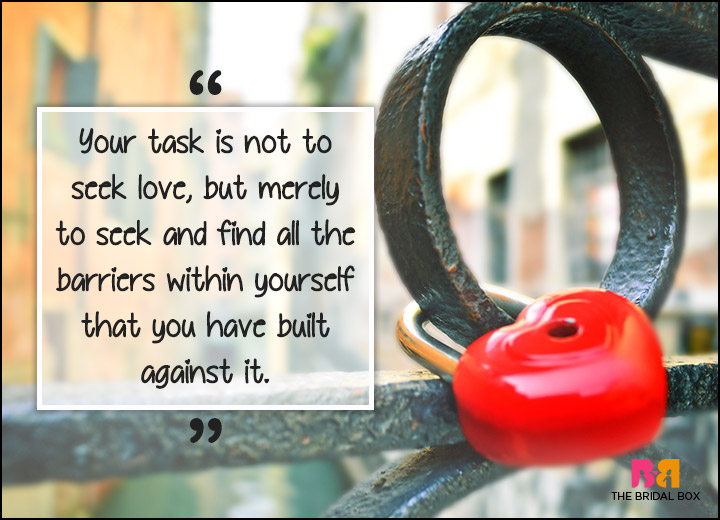 Inspirational Love Quotes - Seek And Find