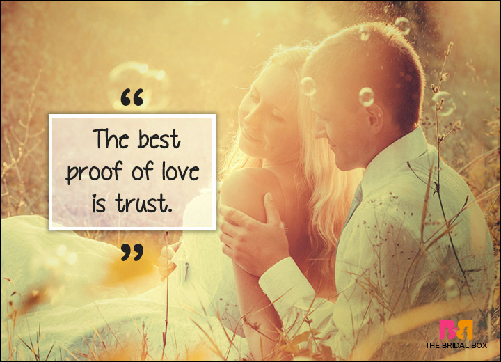 Inspirational Love Quotes - Trust My Love