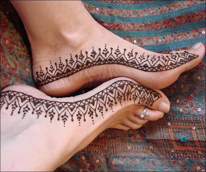 Single Line Mehndi Designs - Keep It Pretty