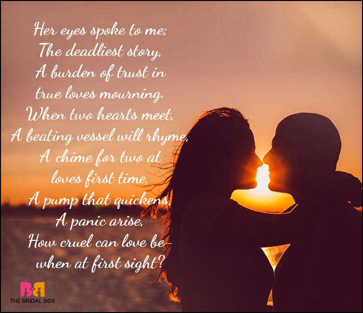 10 Love At First Sight Poems For The Hardcore Romantic