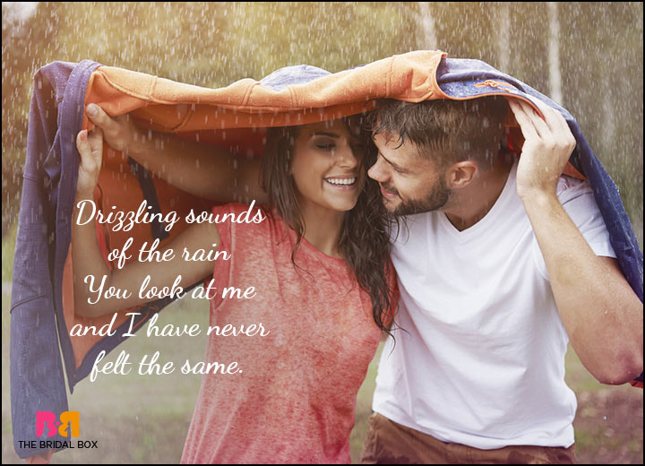 Love At First Sight Poems - The Rain