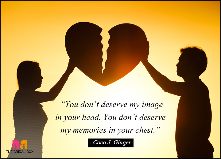 Love Hate Relationship Quotes - Undeserving