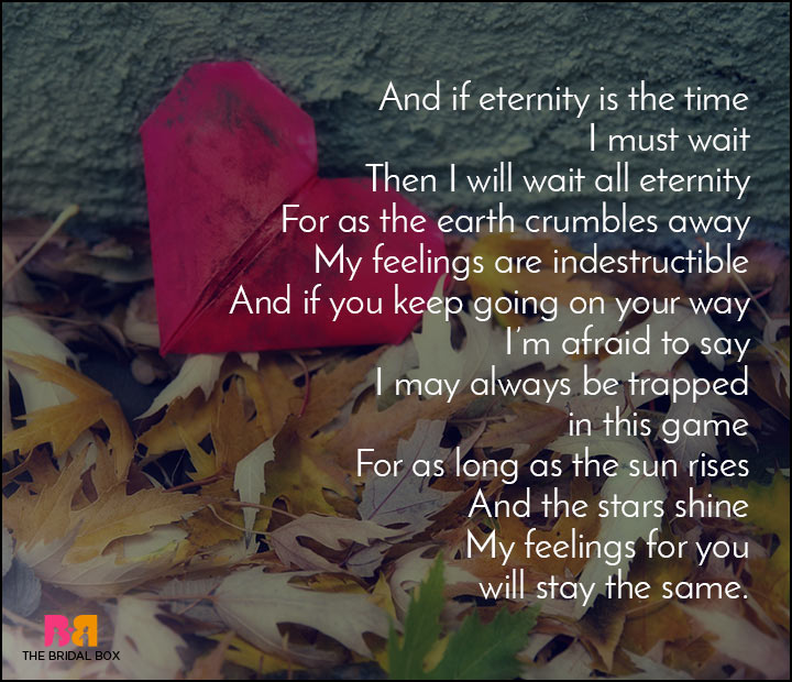 Love Hurts Poems - To The One I Love