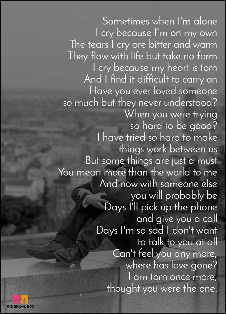 Original size of image #1228199 - Favim.com |Sad Poems About Life And Pain