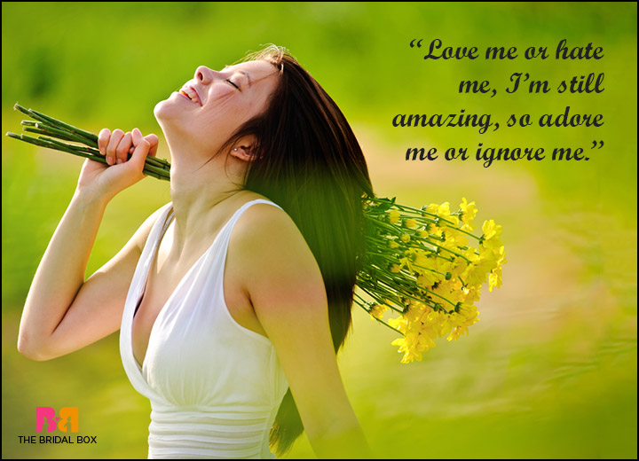 Love Me Or Hate Me Quotes - Do As You See Fit