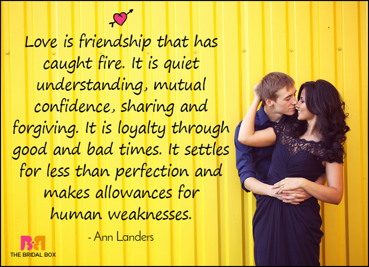 Captivating Love Meaning Quotes   Ann Landers