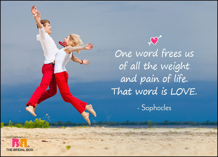 Love Meaning Quotes - Sophocles