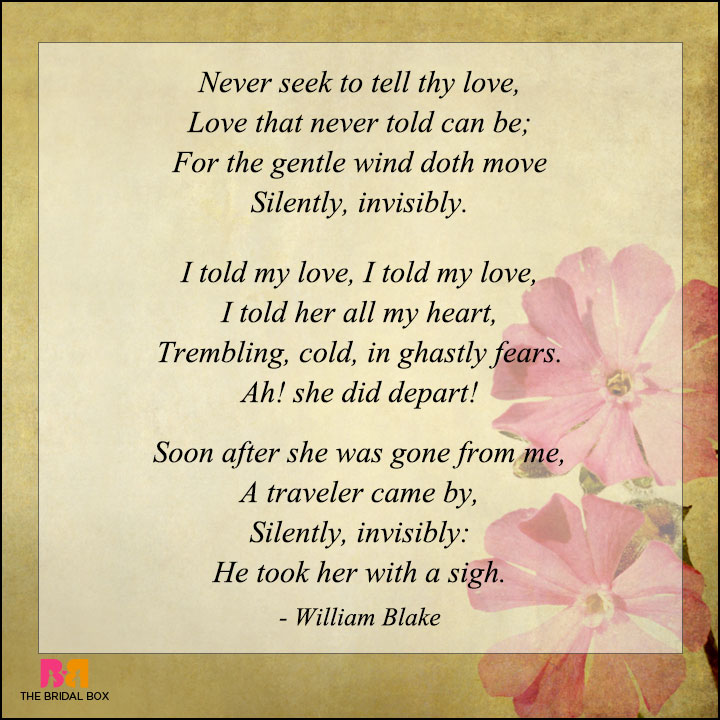 Famous Love Poems Quotes: 7 Romantic Love Poems By Famous Poets
