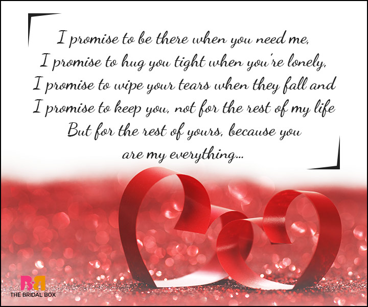 Love Promise Quotes - I Promise