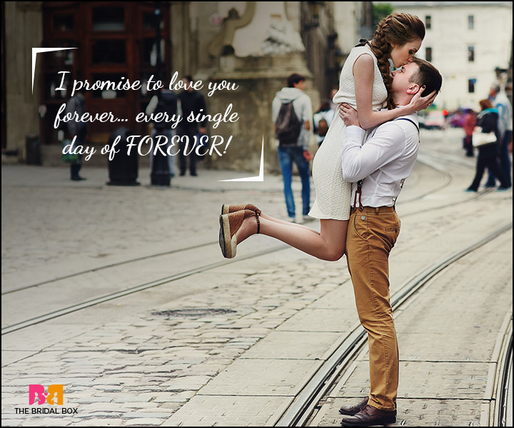 Love Promise Quotes - Every Single Day