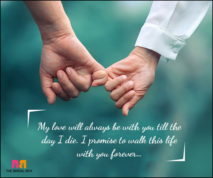 Love Promise Quotes - Always