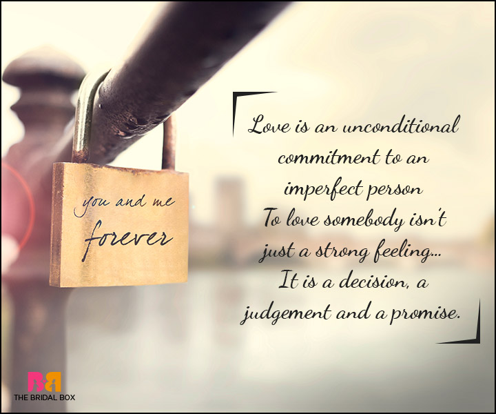 Love Promise Quotes - This Isn't Just A Strong Feeling