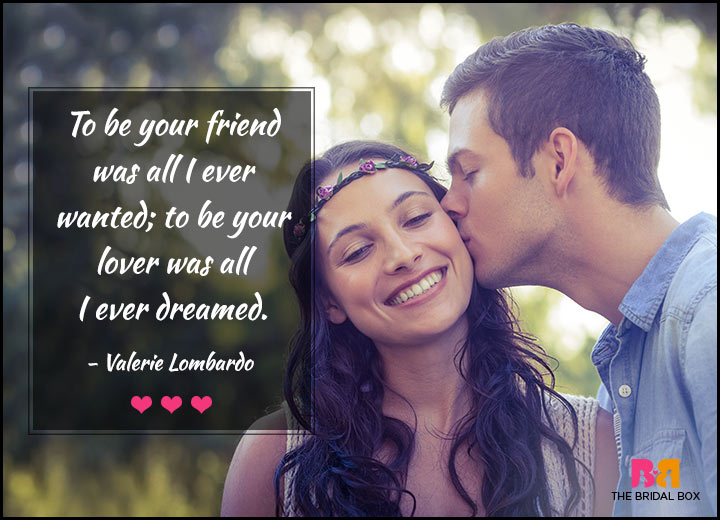 Love Quotes For Her - All I Ever Dreamed