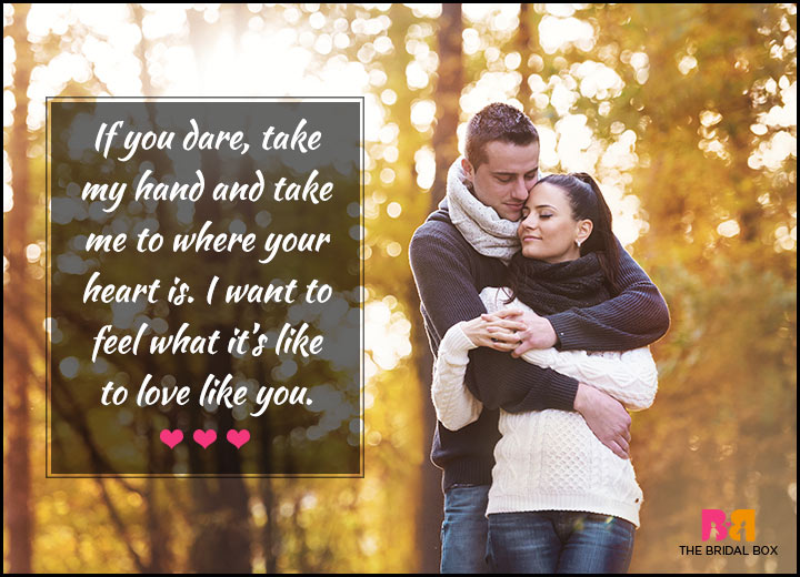Love Quotes For Her - If You Dare