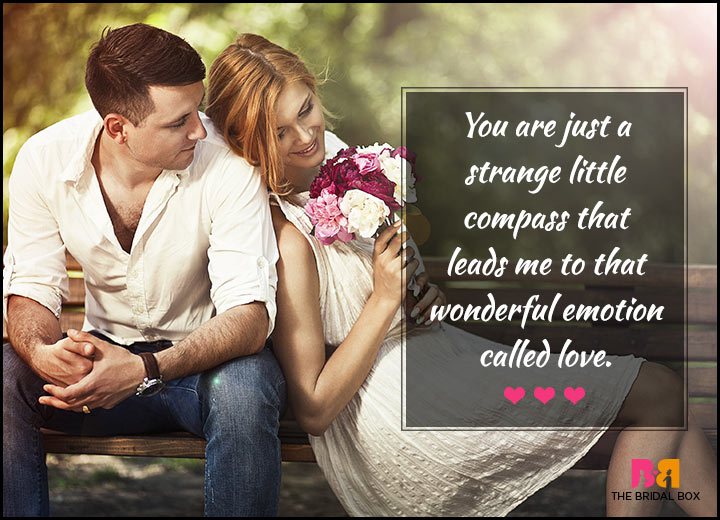 Love Quotes For Her - A Strange Little Compass