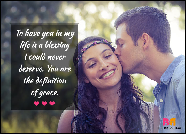Love Quotes For Her - Grace