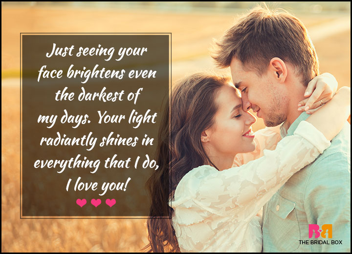 Love Quotes For Her - Your Light