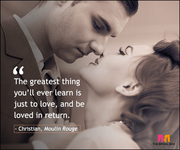 Love Quotes From Movies - Moulin Rouge