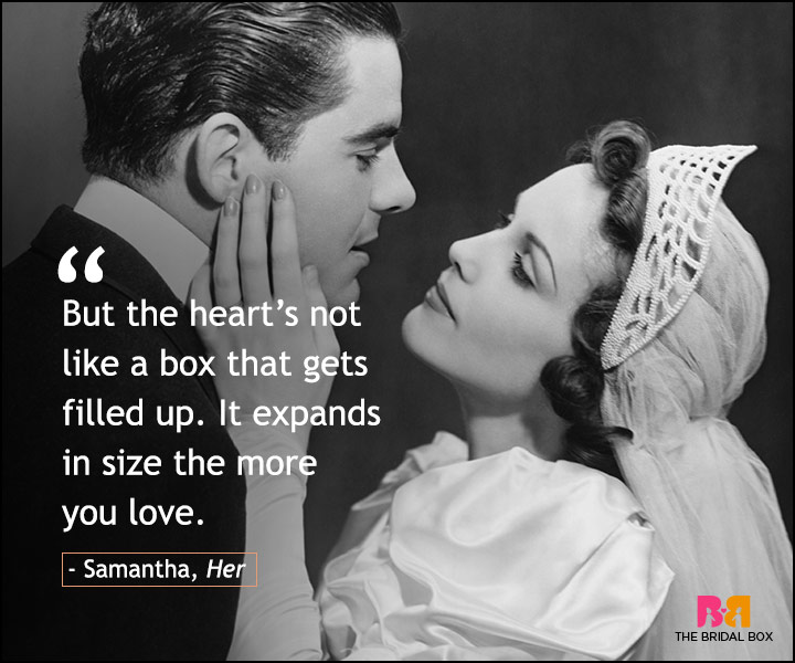 Love Quotes From Movies - Her