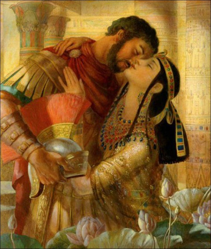Tragic Love Stories - Cleopatra And Mark Antony