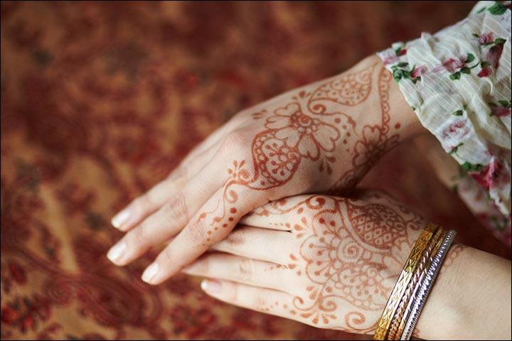Indian Mehndi Designs - Marginal Mehndi Design