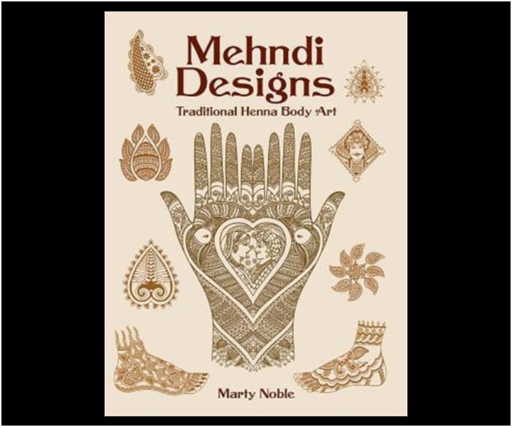 Mehndi Designs Book Collection - Mehndi Designs by Marty Noble