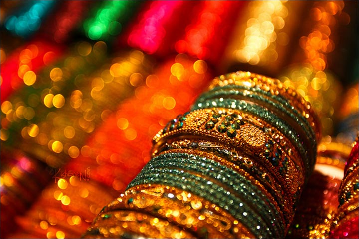 Bridal Bangles - Metallic Bridal Bangles